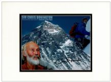 Chris Bonington Autograph Signed Photo